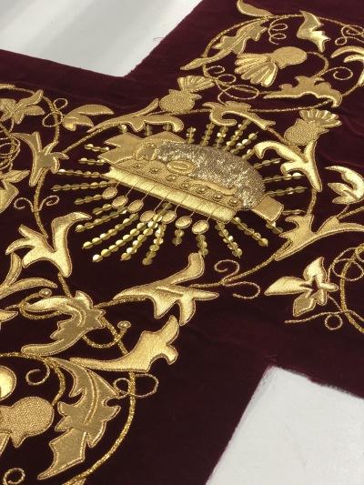 Restauring textiles Slabbinck